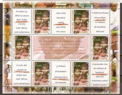 """(Fb).Vaticano.2004.""""Bambini Vittime"""".Foglietto Di 6 Val. (171-18) - Blocks & Kleinbögen"""