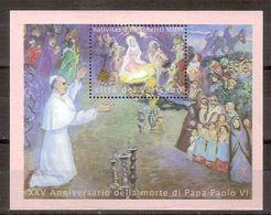"""(Fb).Vaticano.2003.""""Natale"""".Foglietto (175-18) - Blocchi E Foglietti"""