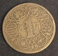 ESPAGNE - ESPANA - SPAIN - 1 PESETA 1944 - KM 767 - [ 4] 1939-1947 : Gobierno Nacionalista