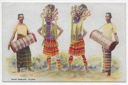 Devil Dancers, Ceylon - Plate 49 - Sri Lanka (Ceylon)