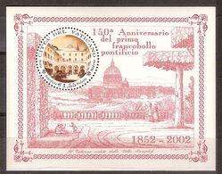 """(Fb).Vaticano.2002.""""150° Anniversario"""".Foglietto (184-18) - Blocchi E Foglietti"""