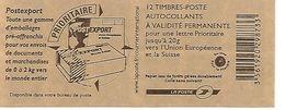 Marianne De BEAUJARD - TVP20gr Bleu Autoadhésif 592-C1 - Freimarke