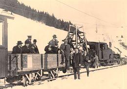 BVA -  Dépôt De Bévieux - Bex Gryon Bretaye  - Ligne De Chemin De Fer -Train - H 2/3 10 - B.G.B - BGB - VD Vaud