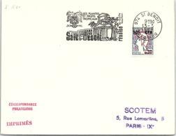 REUNION - LETTRE FLAMME SAINT BENOIT SES PLANTES ET FRUITS TROPICAUX SA VANILLE BOURBON - ST BENOIT 13.3.1968  / 6766 - Cartas