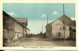 N°339 R -cpa Col De La Faucille -hôtel De La Couronne- - Hotels & Gaststätten