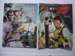 Lot 2 BD ELF Barbe Rouge CHARLIER HUBINON Bob Morane VERNES FORTON Bandes Dessin - Bob Morane