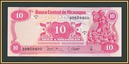 Nicaragua 10 Cordobas 1979 P-134 UNC - Nicaragua