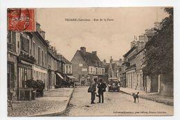 - CPA TROARN (14) - Rue De La Poste 1910 (avec Personnages) - Collection Jeanblanc - - France