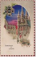 STRASSENKAMPF IN LOWEN  CONRA LUZ  Durchscheinkarte Contre La Lumière 1914/15 WWI WWICOLLECTION - Controluce