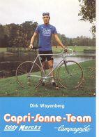 Cyclisme, Dirk Wayenberg - Cyclisme