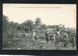 CPA - Guinée - Environs De KONAKRY, Animé - Guinea Francese