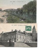 MERY Sur OISE -  Lot De 2 CPA - Mery Sur Oise