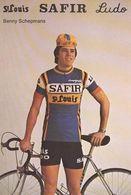 Cyclisme, Benny Schepmans - Cyclisme
