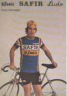 Cyclisme, Frans Verhaegen - Cyclisme