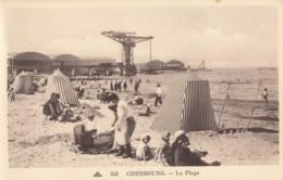 CPA - Cherbourg - La Plage - Cherbourg