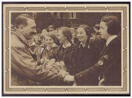 Dt.- Reich (008127) Propaganda Ganzsache P278/03 Adolf Hitler Mit Mädchengruppe, Gelaufen Mit SST Berlin Am 20.4.1939 - Germania
