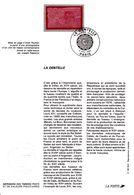 2631 (Yvert Et Tellier) Sur Notice Philatélique 1er Jour - Métiers D'art La Dentelle - France 1990 - Postdokumente