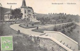 Romania - CARANSEBES - Villa Bordan - Ed. Necunoscut. - Rumänien