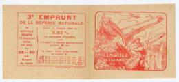 CALENDRIER NATIONAL DE L'EMPRUNT 1918 - Calendriers