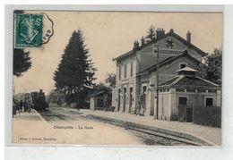 70 CHAMPLITTE #12304 LA GARE INTERIEURE TRAIN LOCOMOTIVE EDIT SIMONET - France