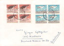 NETHERLANDS - LETTER 1961 NORDHORN/GERMANY Mi #760/64 /T56 - 1949-1980 (Juliana)