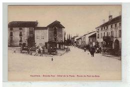 70 VAUVILLERS #12317 GRANDE RUE HOTEL DE LA POSTE ROUTE DE PONT DU BOIS - Autres Communes
