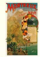 Montreux Vd Vaud  Chemin De Fer Territet Glyon Aux Rochers De NAYE  45   (scan Recto-verso)MA2174Bis - VD Vaud