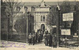 ORLEANS  Orphelinat Serenne  HOPITAL MILITAIRE REMPORAIRE N° 26  RV - Orleans