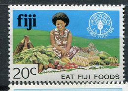 Fidji ** N°  445  Contre La Faim - Against Starve