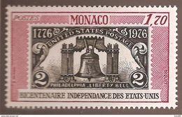 Monaco - Yt N° 1055 - Neuf Sans Charnière - 1976 - Monaco