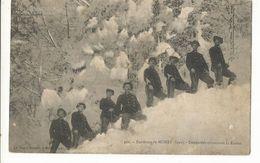 CPA,Th. Douane ,N°402, Environs De Morez ( Jura) , Douaniers Traversant  Le Risoux . Ed.Ch. Pagot , 1919 - Douane