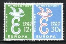 SAARLAND 1958 EUROPA CEPT   MNH - Europa-CEPT