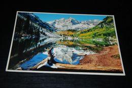 15651-           COLORADO, MAROON BELLS PEAKS NEAR ASPEN - Rocky Mountains