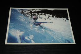 15652-           COLORADO, DOWNHILL SKIER - Rocky Mountains