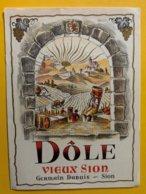 11674 - Dôle Vieux Sion Germain Dubuis - Etiquetas