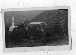 ILE DE LA REUNION CILAOS L'EGLISE ET L'HOTEL (CARTE PHOTO ) - La Réunion