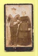 Cdv Brest - Couple - Marin - - Guerre, Militaire