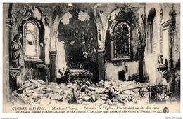 88 MANDRAY - L'église En Ruine [REF/S009653] - France