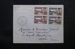WALLIS & FUTUNA - Enveloppe De Mata Utu Pour La France En 1957, Affranchissement Plaisant - L 62811 - Covers & Documents