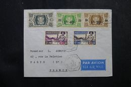 WALLIS & FUTUNA - Enveloppe De Mata Utu Pour La France En 1958, Affranchissement Plaisant - L 62812 - Covers & Documents