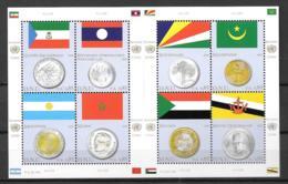 2010 - 682 à 689 **MNH - Drapeaux Et Monnaies - Neufs