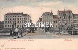 Vue Générale De La Rue De La Chapelle - Ostende - Oostende - Oostende