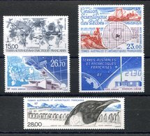 RC 17512 TAAF COTE 61,10€ - 1994 ANNEE COMPLETE SOIT 5 TIMBRES POSTE AERIENNE N° 129 / 133 NEUF ** MNH TB - Luftpost