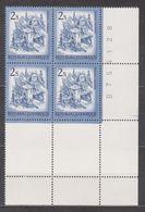 1974 , Mi 1440 ** (12) -  4er Block Postfrisch - Freimarke : Schönes Österreich , Alte Innbrücke ( Tirol ) - 1971-80 Unused Stamps