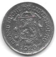 Luxembourg 25 Centimes 1920   Km 32   Xf+ - Luxemburg