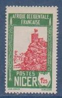 NIGER      N°  YVERT  :  46 A   NEUF AVEC CHARNIERES      ( CHARN  03/ 40 ) - Niger (1921-1944)