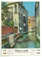 "8310""CARTOLINA DISCO FONOSCOPE-VENEZIA-VENEZIA LA LUNA E TU-CANTA C. LOJACONO""-CART. POST. OR. NON SP. - Venezia"