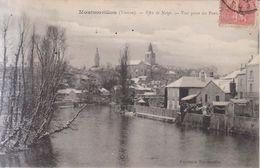 Montmorillon Effet De Neige 1906 - Montmorillon