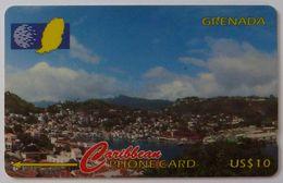 GRENADA - GPT - GRE-136A - St George's Harbour - $10 - Used - Grenada