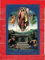 (Ni) VATICANO ** - 2005 - IL PERUGINO.  Unif. BF. 35.  MNH. - Blocchi E Foglietti